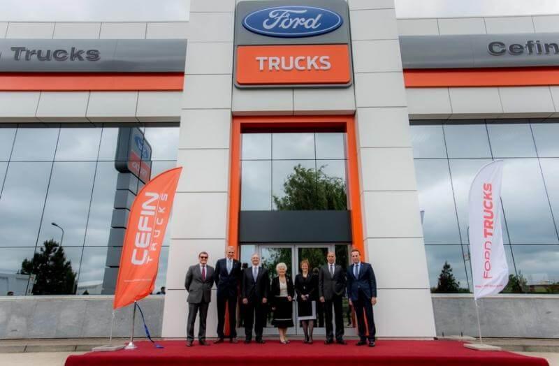 Ford Trucks și-a început operațiunile în România