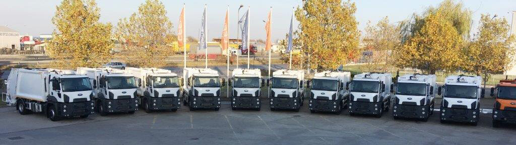 Ford Trucks - o nouă livare de 10 vehicule municipale