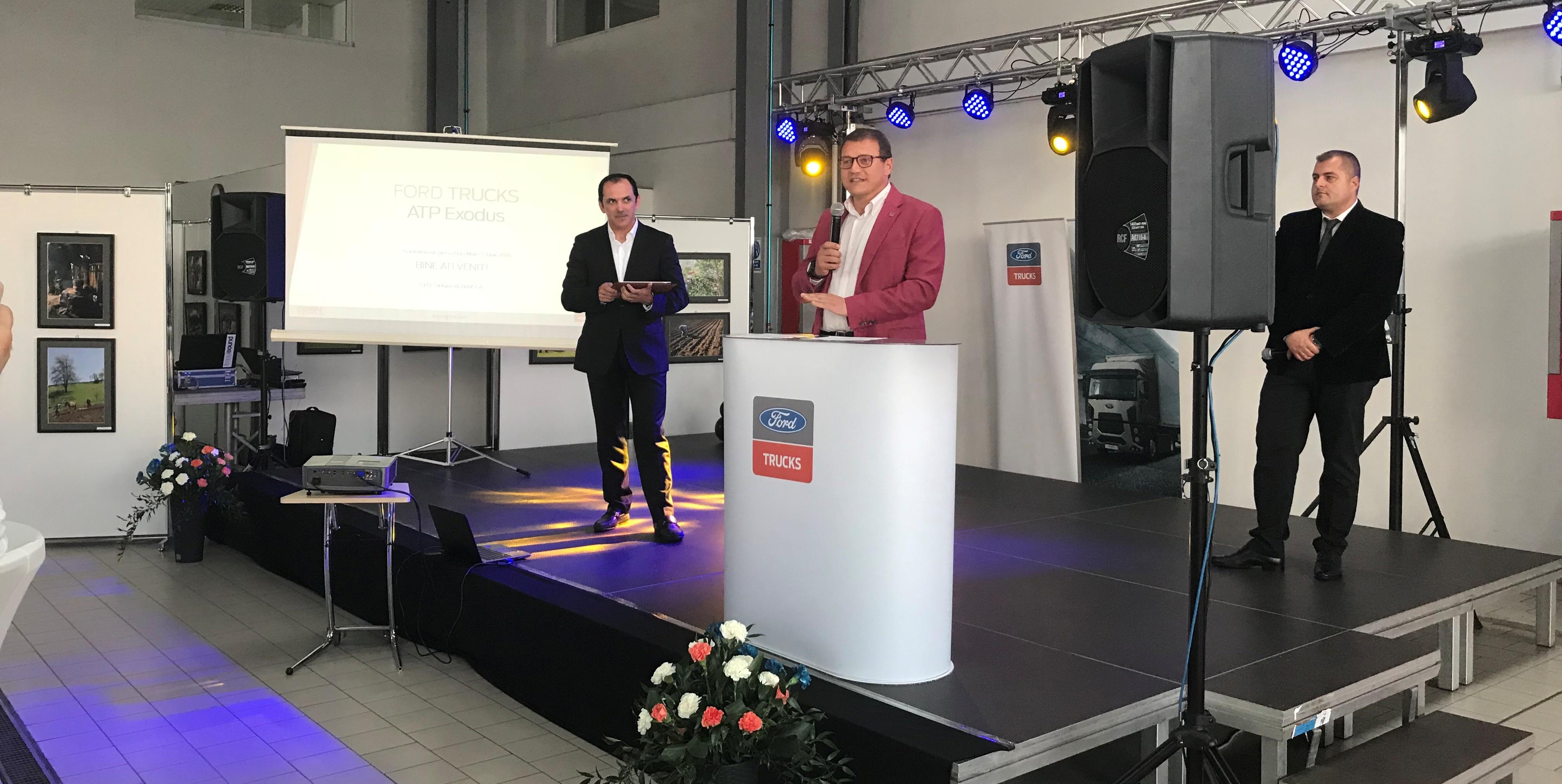 ATP Exodus – noul partener Cefin Trucks  în rețeaua de distribuție Ford Trucks în România - 1