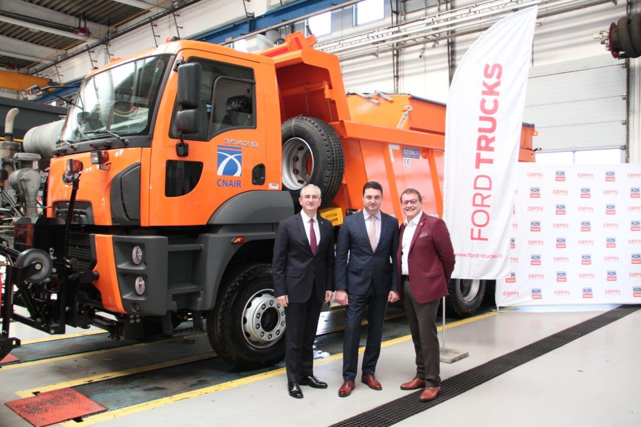 Iarna va fi mai ușoară cu cele 103 Autobasculante Ford Trucks 3542D