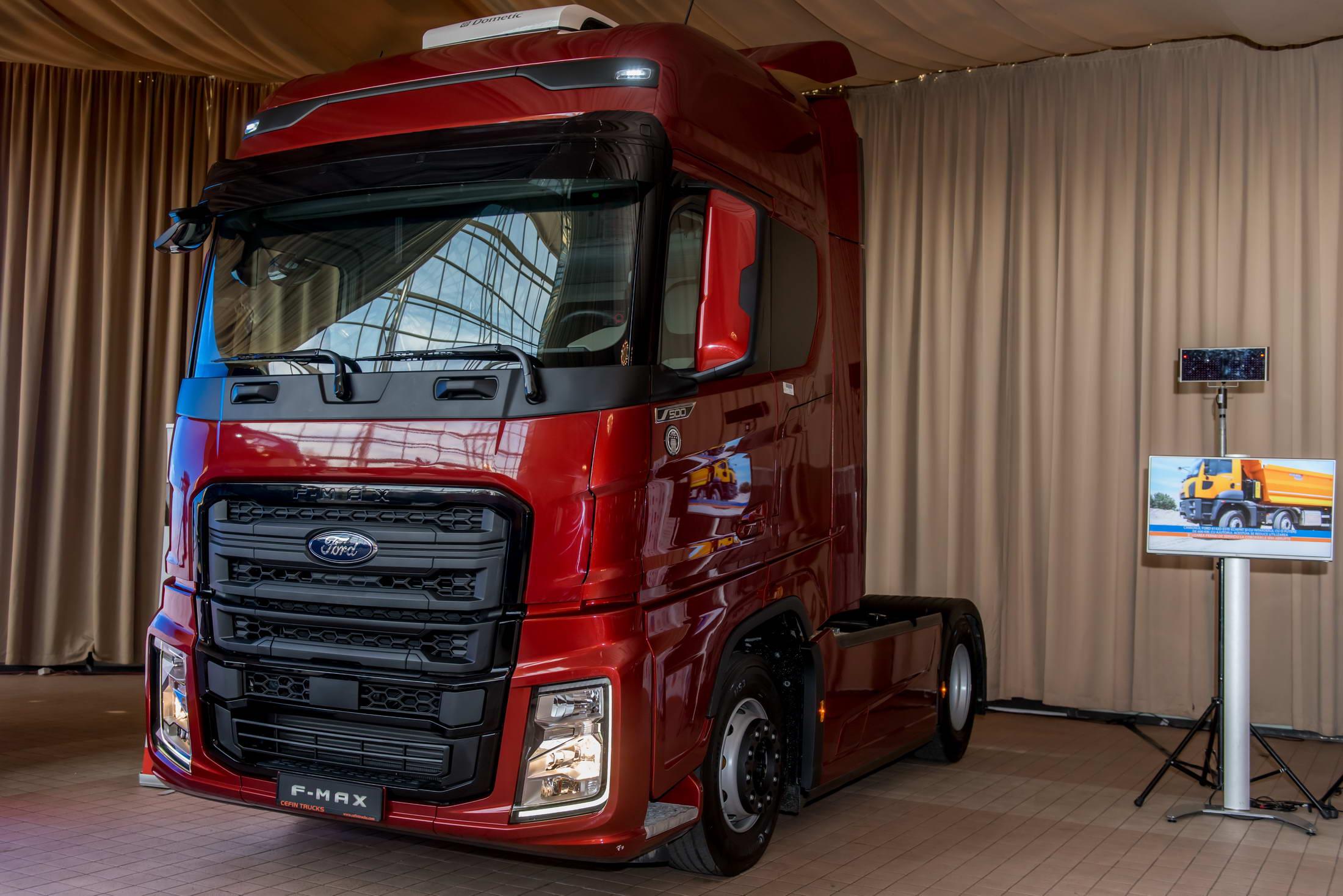 Ford Trucks livrează primul F-max din România
