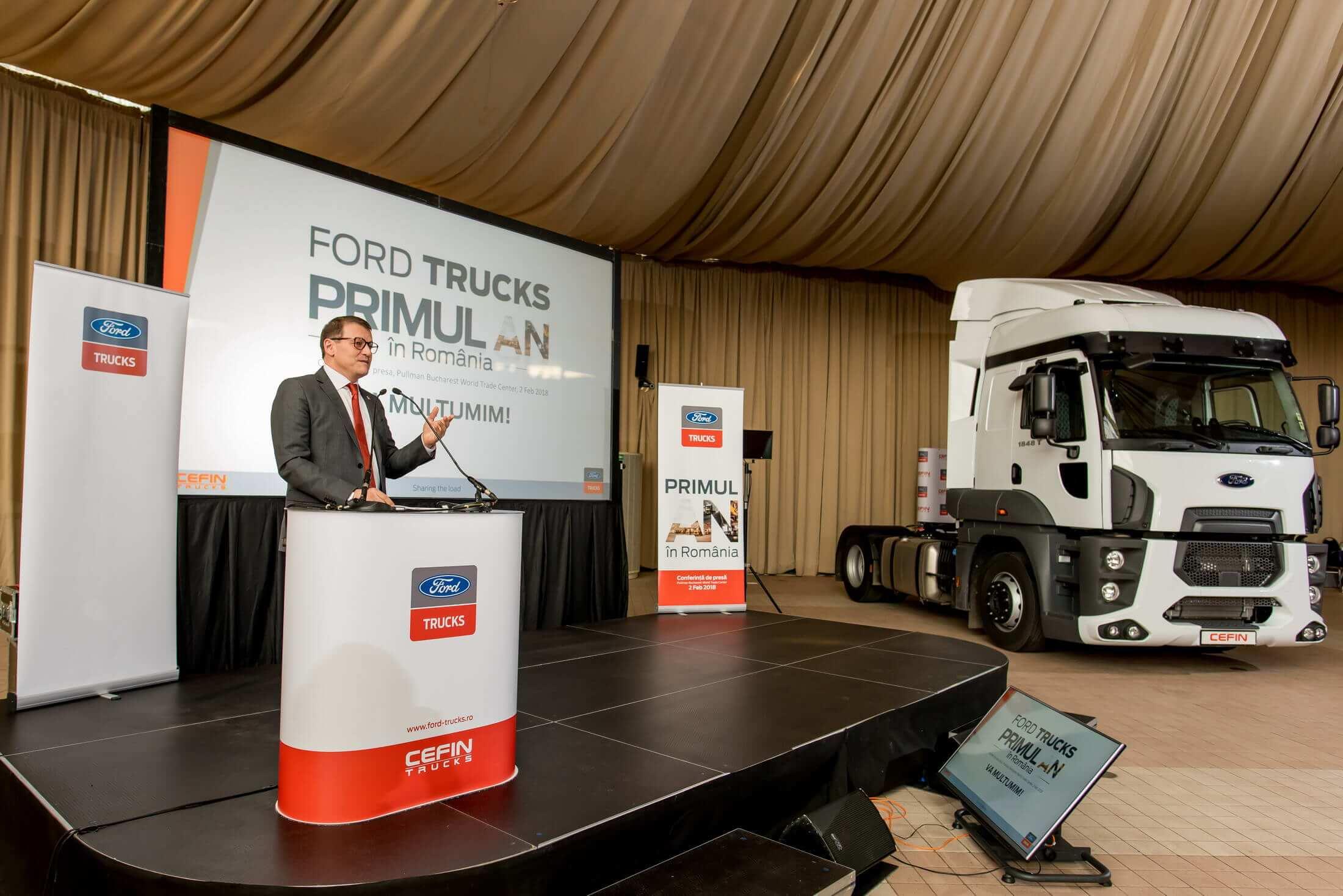 Ford Trucks - un an în România, 4,5 milioane de euro investiți