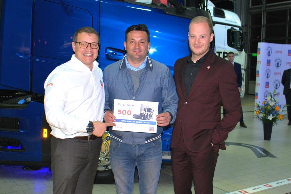 Vehiculul Comercial Ford Trucks cu numărul 500, livrat în România - 1