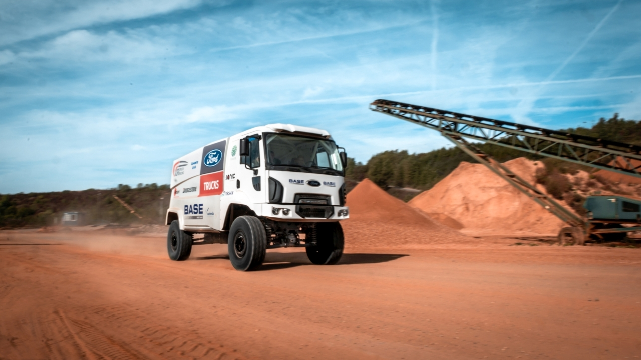 Ford Trucks concureaza la Raliul Dakar, cel mai dificil maraton de off-road din lume