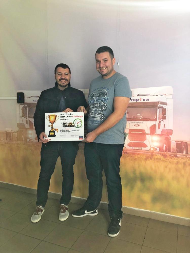 Cei mai buni șoferi Ford Truck sunt premiați pentru stilul de condus - 1