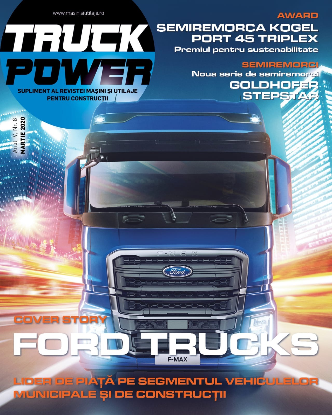 PRESA - Cover story Truck Power - Martie 2020