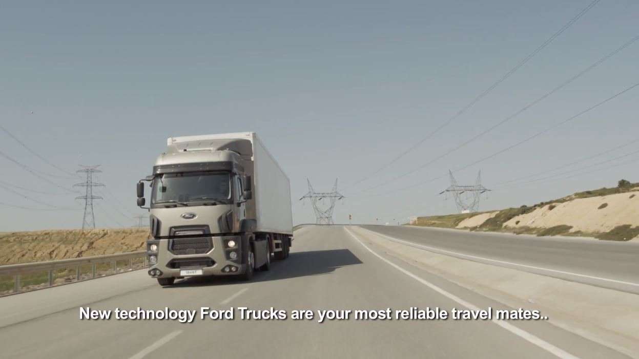 VIDEO - Ford Trucks New Technologies Tractor