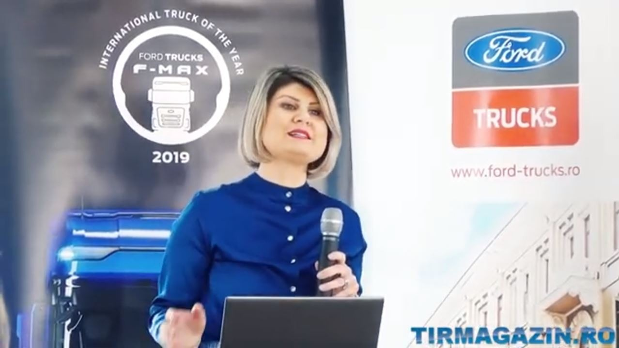 VIDEO - Ford Trucks - Conferinta de presa - Interviu Tir Magazin -  Martie 2020