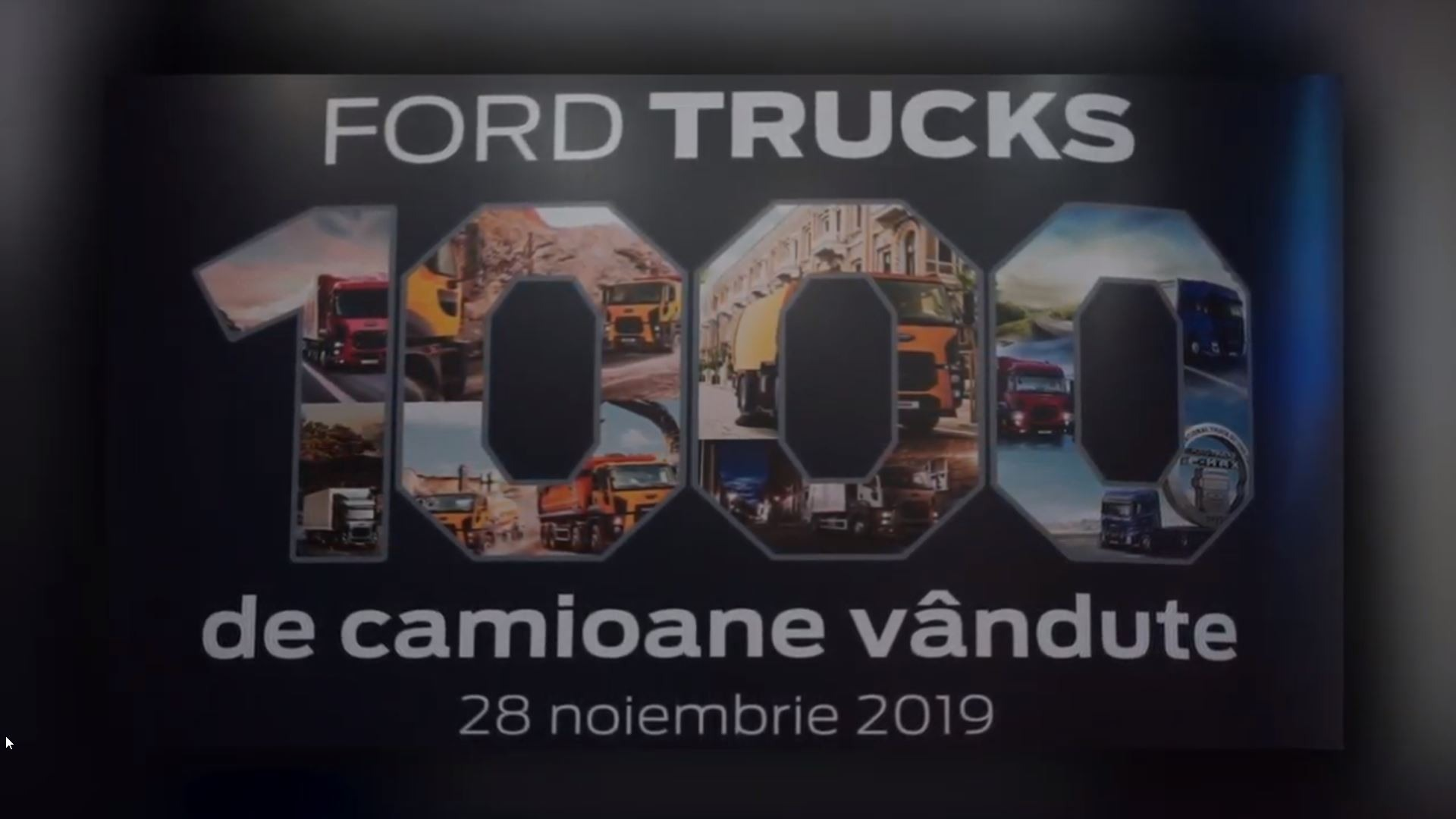 VIDEO - 1.000 camioane vandute - Noiembrie 2019