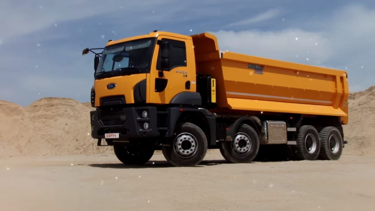 VIDEO - 4142D Camion Ford Trucks Constructii