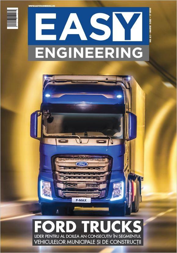 PRESA - Easy Engineering - Ford Trucks lider pentru al doilea an consecutiv in segmentul vehiculelor municipale si de constructii - Martie 2020