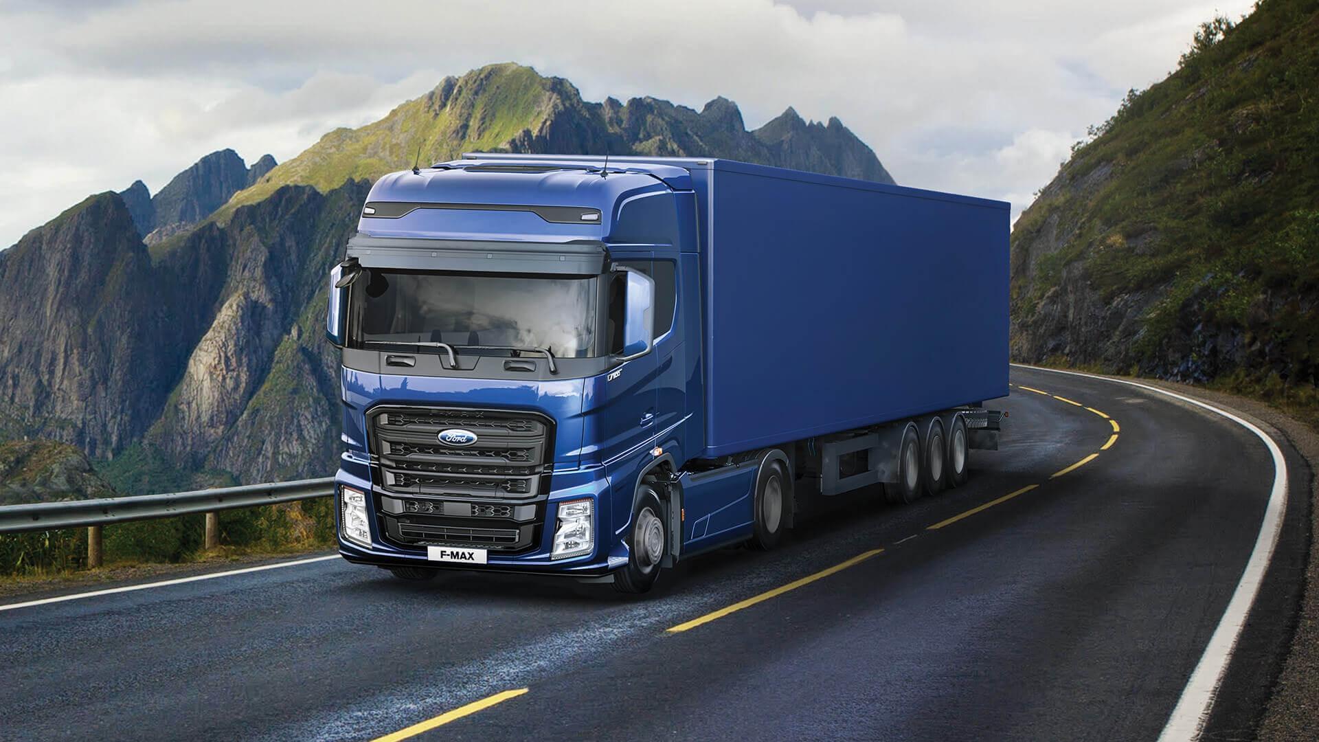 Camioane transport international f-max